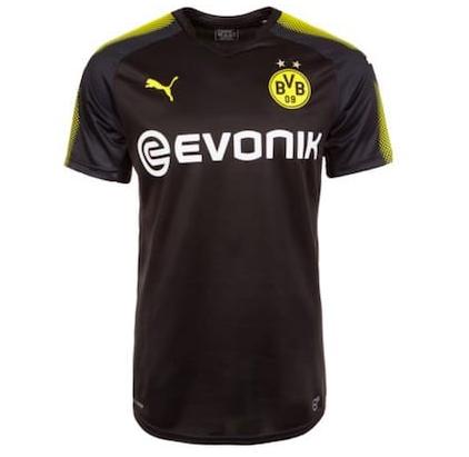 Borussia Dortmund Trikot Away 2017/2018 für 22,95€ inkl. Versand (statt 30€)