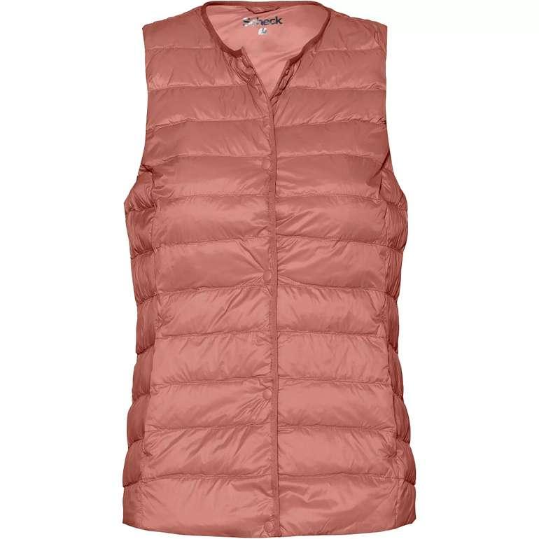 Scheck Damen Steppweste in rosa für 29,41€ inkl. Versand (statt 45€)