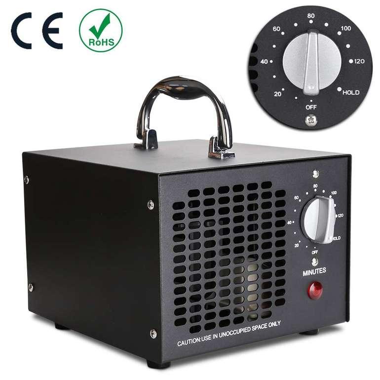 WIS 5000-OGS Ozon-Luftreiniger mit Timer für 48,99€ inkl. Versand
