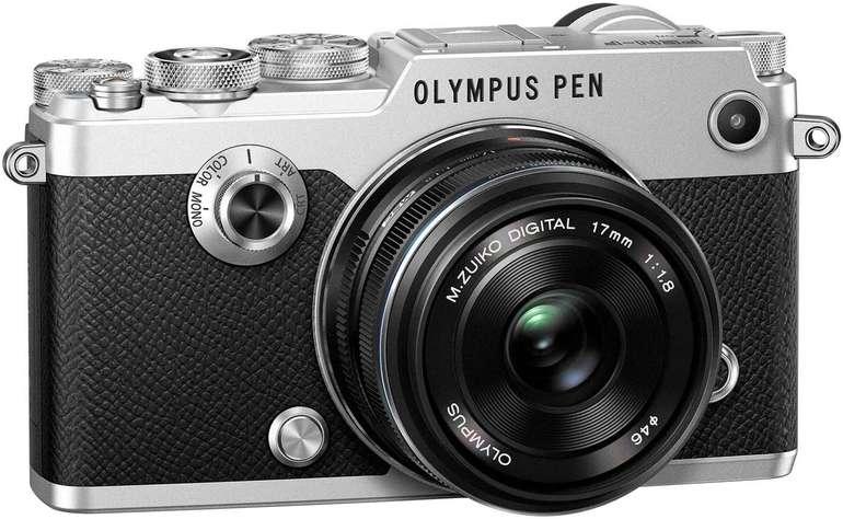 Olympus PEN-F Systemkamera Kit mit 17mm 1:1.8 Objektiv Silber für 999€ inkl. Versand (statt 1199€)
