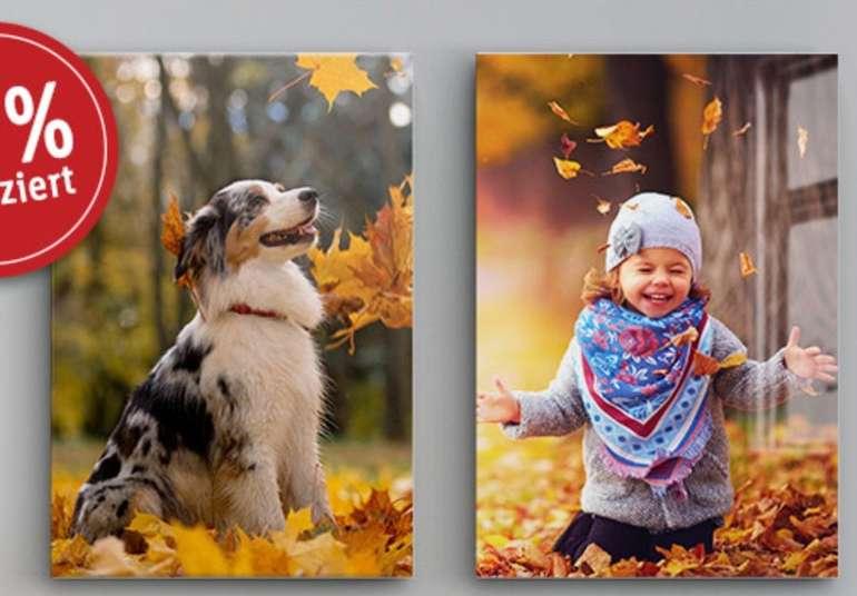Lidl Fotos: Eigenes Bild auf Leinwand oder Acrylglas (je 60x40 cm) für 14,98€ bzw. 17,98€ inkl. Versand