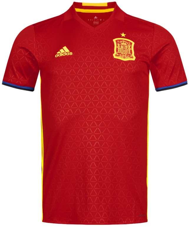 adidas Spanien Herren Heim Trikot für 17,94€ inkl. Versand (statt 33€) - S, XL!
