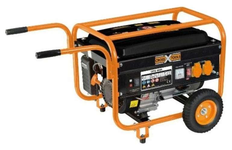 T.I.P. Cross Tools CPG 3000 Benzin-Stromerzeuger für 194,25€ inkl. Versand (statt 289€)