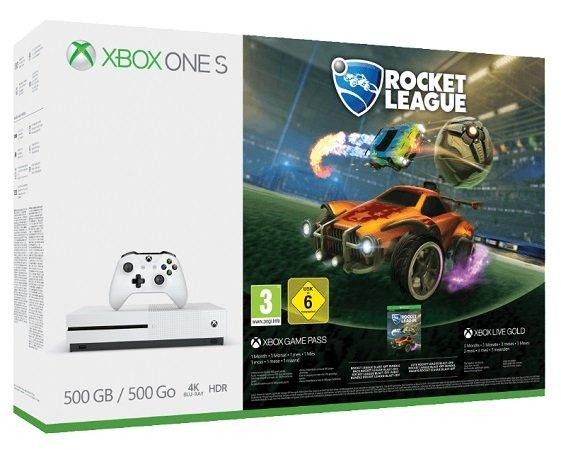 Microsoft Xbox One S 500GB Konsole + Rocket League Bundle für 173,99€