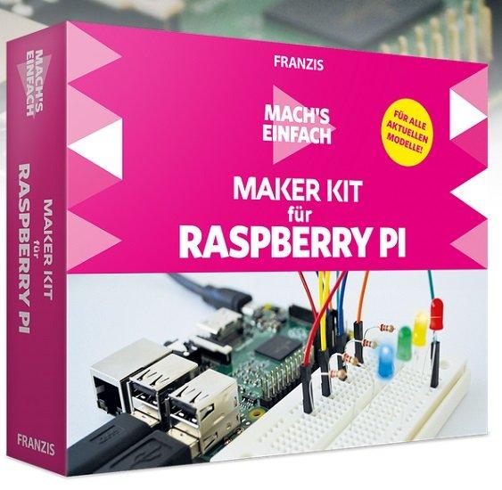 Franzis Maker Kit für Raspberry Pi - Mach's einfach für 29,95€ inkl. VSK (statt 42€)