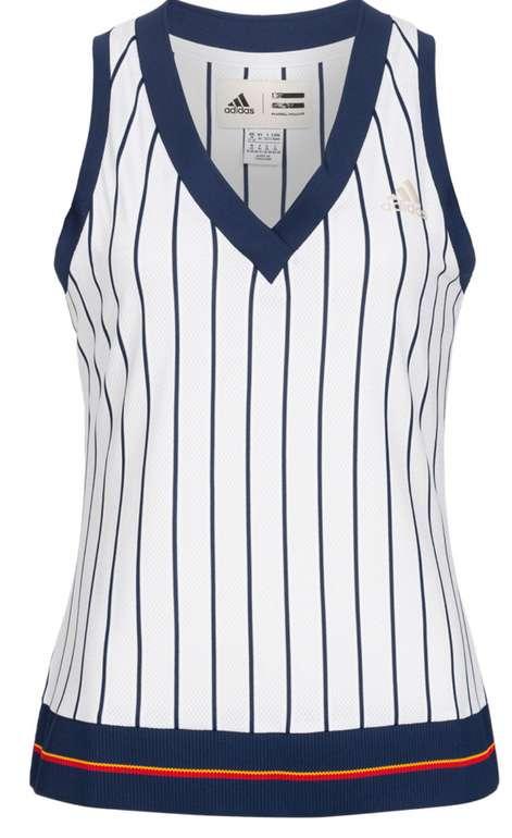 adidas x Pharell Williams New York Striped Damen Tennis Tank Top für 13,94€ inkl. Versand (statt 20€)