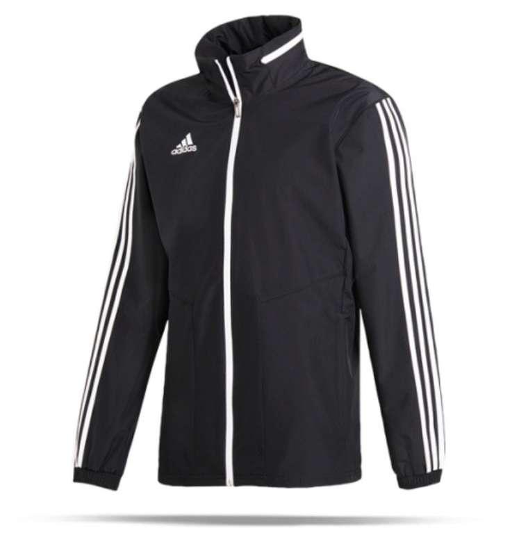 Adidas Tiro 19 Allwetterjacke in Schwarz für 27,96€ inkl. Versand (statt 31€)