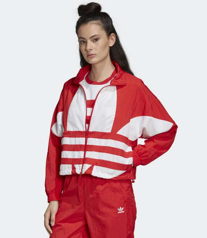 "Adidas Damen Jacke ""Large Logo"" in 3 Farben für je 39,17€ inkl. Versand (statt 46€)"