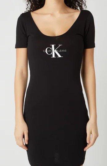 """Calvin Klein Jeans Kleid """"Monogram Stripe Ballet"""" für 20,99€ inkl. Versand (statt 39€)"""