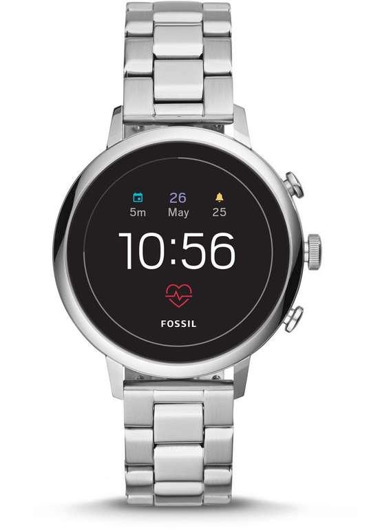 Fossil FTW6017 Venture HR 4. Generation Damen Smartwatch für 136,50€ (statt 210€)