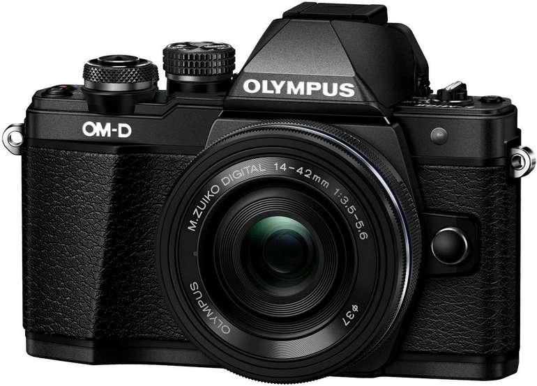 Olympus OM-D E-M10 Mark II Systemkamera + 14-42mm + 45mm für 444€ inkl. Versand (statt 599€)