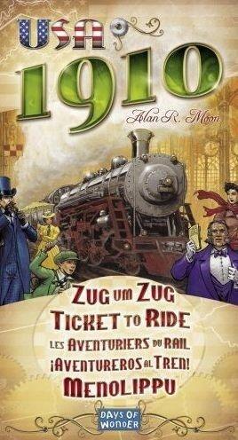 Zug um Zug - Asmodee 200332 - Days of Wonder - Erweiterung 1910 für 11,59€ inkl. Versand (statt 15€)