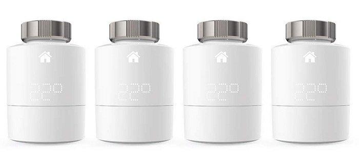 4er Set tado Heizkörper Thermostate für ~163€ inkl. VSK (statt 190€)