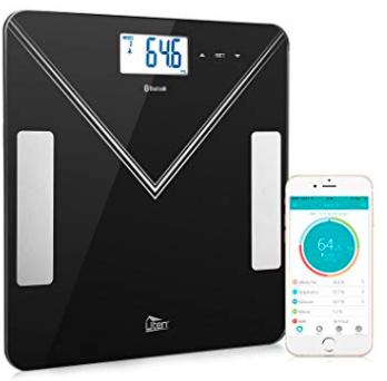 Uten Körperfettwaage mit Bluetooth und App (Android & iOS) ab 18,99€ inkl. Prime