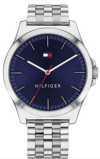 Tommy Hilfiger Herren-Uhren Analog Quarz 1791713 in Silber für 79,91€inkl. Versand (statt 97€)