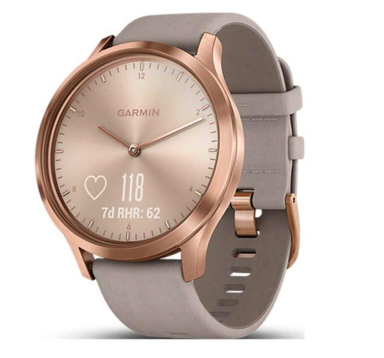 Garmin Vivomove HR Premium Smartwatch in rose gold/grey für 279,99€ (statt 297€)