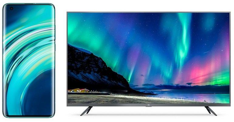 """Xiaomi Mi 10 + 32"""" Xiaomi Mi TV (+ 129,95€) inkl. Vodafone Allnet-Flat mit 20GB LTE für 41,99€ mtl."""