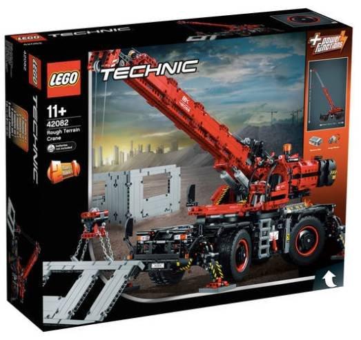 Lego Technic Geländegängiger Kranwagen (42082) für 139,99€ inkl. Versand (statt 169€)