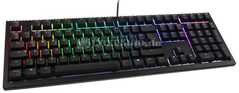 Ducky Shine 6 PBT Gaming Tastatur - Cherry MX-Brown und RGB für 155,89€ (206€)