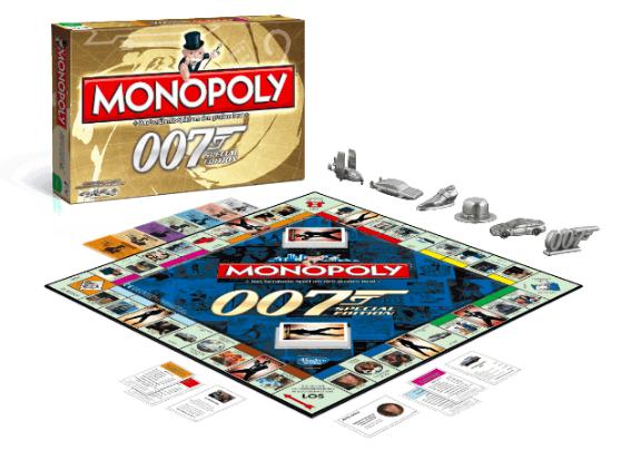 Monopoly - James Bond Limited Edition für 19,99€ inkl. Versand (statt 29€)