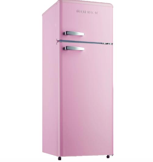 Wolkenstein GK212.4RT Kühlgefrierkombination in rosa für 279€ (statt 311€)