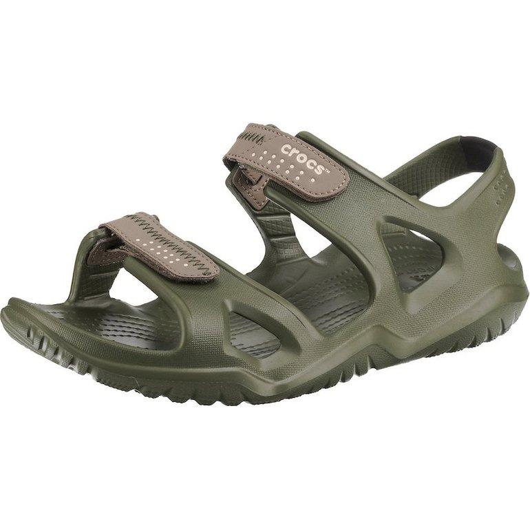 Crocs Komfort-Sandalen 'Swiftwater River Sandal M Agr/Kha' für 28,04€ inkl. Versand