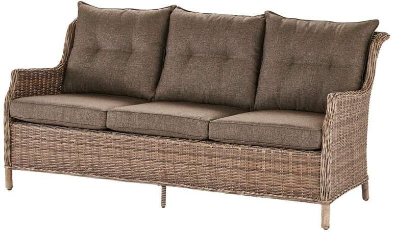A Casa Mia Sofa 3-Sitzer Florenz 2 mit Sitz- und Rückenkissen für 389€ inkl. Versand (statt 549€)