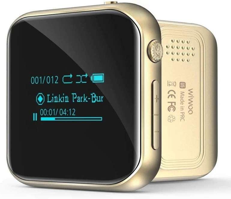 Wiwoo MP3 Player mit Clip (FM Radio, Bluetooth) für 12€ inkl. Versand (statt 30€)