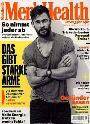 1 Jahr Men's Health (10 Ausgaben) für 54€ + 35€ Amazon Gutschein