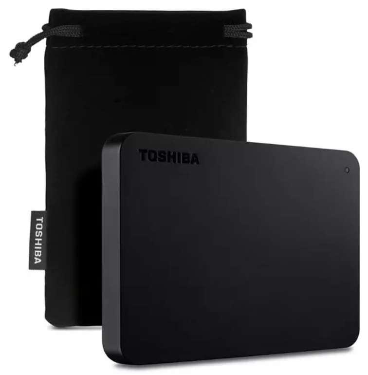 "Externe HDD Toshiba Canvio Basic Exklusive 2TB (2,5"", USB 3.0) für 44,10€ inkl. Versand (statt 60€)"
