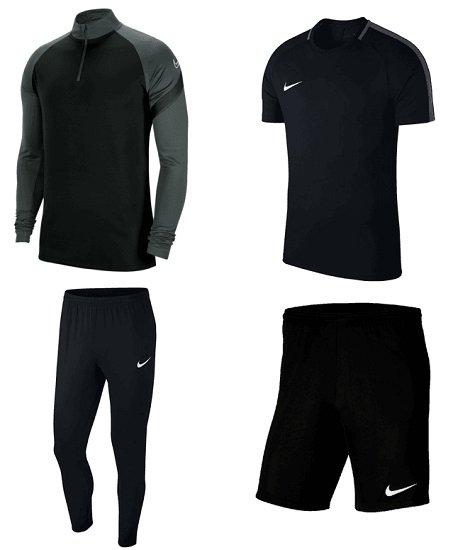 4-teiliges Nike Academy 18 Trainingsset (Jacke, Hose, T-Shirts, Shorts) für 56,95€ inkl. Versand