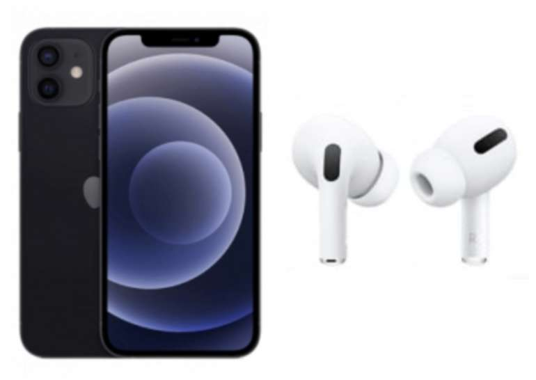 Apple iPhone 12 128 GB + Apple AirPods Pro (4,99€) + o2 Free Unlimited Max für 59,99€mtl.