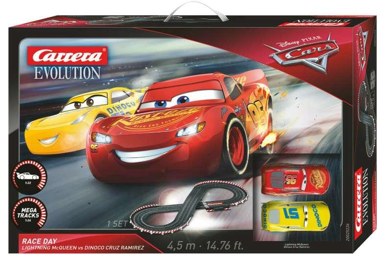 Carrera Evolution Disney/Pixar Cars 3 Race Day (25226) für 45€ inkl. Versand (statt 92€)