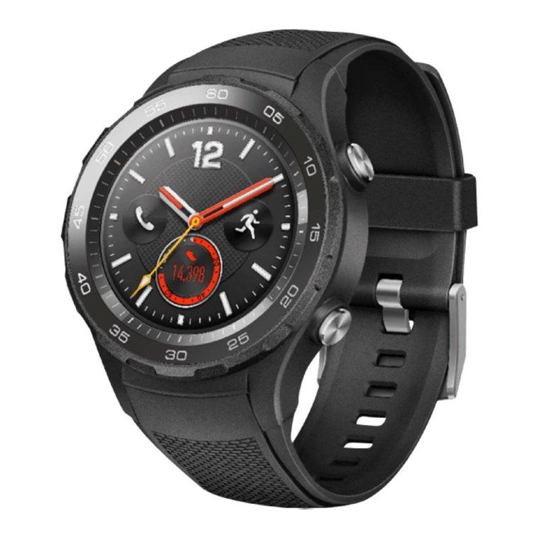 Huawei Watch 2 Smartwatch (Carbon Schwarz) für 169€ (Vergleich: 192€)