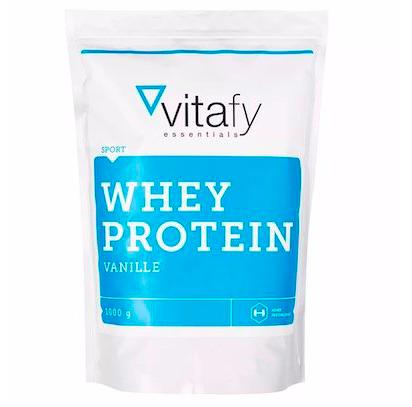 1kg Vitafy Whey Protein Essentials für 5,99€ zzgl. VSK (statt 14€) - MHD-Ware