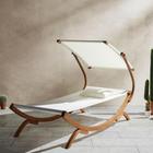 Relaxliege Curtys aus Lärchenholz für 116,82€ inkl. Versand
