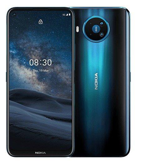 """Nokia 8.3 Smartphone (128GB, 6.81"""" FHD+, HDR10, Snapdragon 765G, 5G, NFC) für 399,60€ (statt 495€)"""