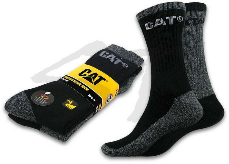 10 Paar Cat Caterpillar Work Sneaker Arbeitssocken für 27,19€ inkl. Versand (statt 34€)
