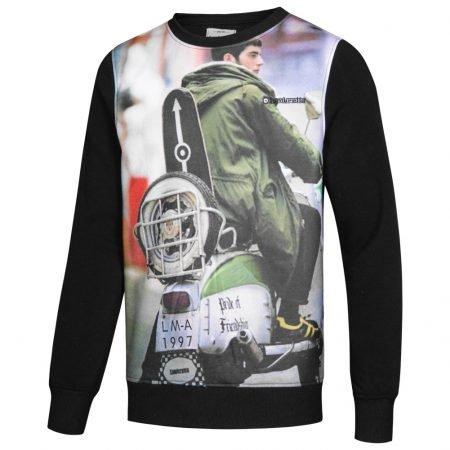 Lambretta Print Crew Herren Sweatshirt für 5,55€ zzgl. Versand