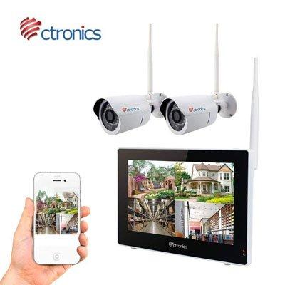 Ctronics Überwachungskamera Set für 179,99€ inkl. Versand (statt 300€)