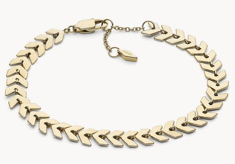 Fossil Brass Chain Damen Armband für 14,96€ (statt 35€)