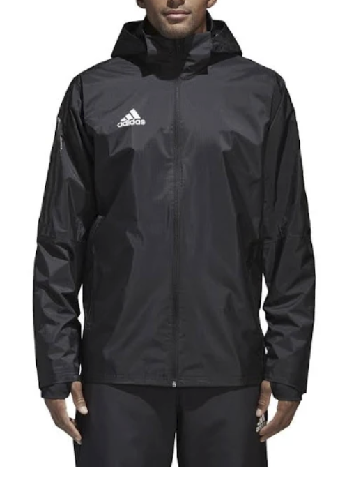 Adidas Performance 'Tiro 17 Storm' Kapuzenjacke in schwarz für 32,57€ inkl. Versand (statt 40€)