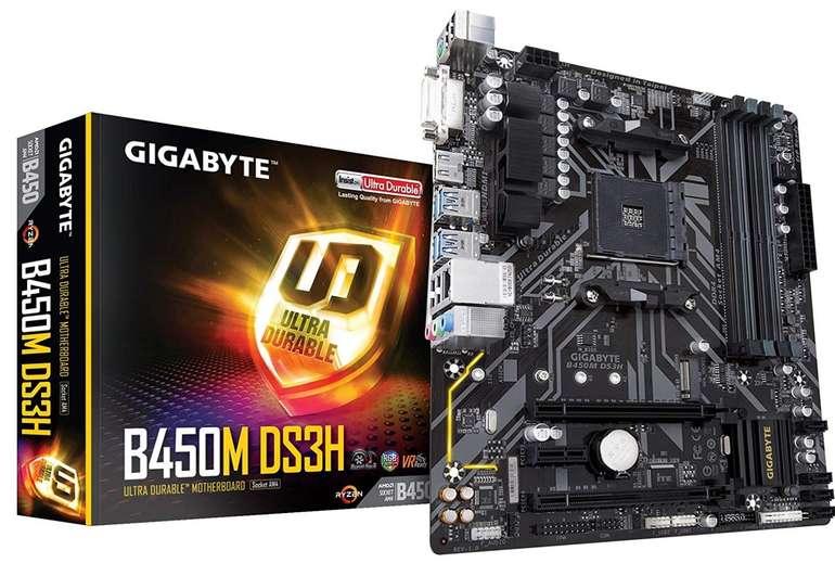 Preisfehler? GigaByte B450M DS3H Micro ATX Motherboard für 26,06€ (statt 70€)