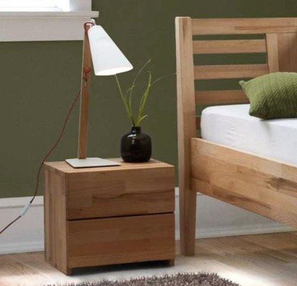 15% auf ausgewählte Schlafzimmermöbel bei Home24 - z.B. Nachtkommode 93,49€