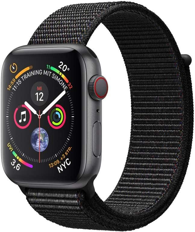 Top12: Schmuck, Uhren & Accessoires stark reduziert, z.B. Apple Watch Series 4 GPS + Cellular 44mm für 421,63€