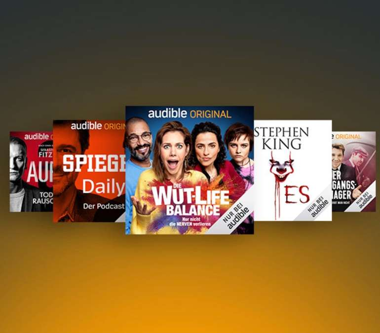 Audible: 3 Monate für einmalig 0,99€ - 3 Hörbücher gratis! (nur Neukunden)