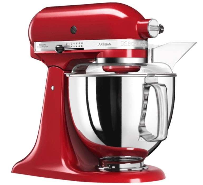 Kitchenaid 5KSM175PSEER Artisan Küchenmaschine (300 Watt) in Empire Rot für 399€ (statt 469€)
