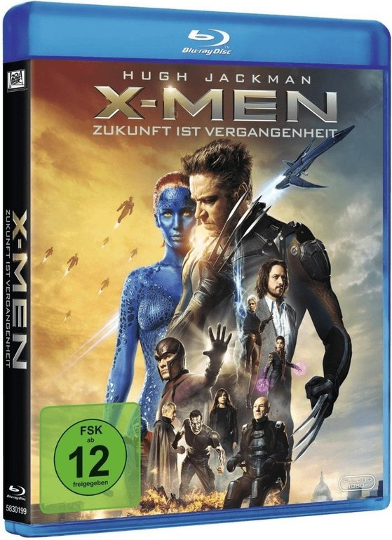 X-Men: Zukunft ist Vergangenheit (Blu-ray) für 3,68€ inkl. VSK
