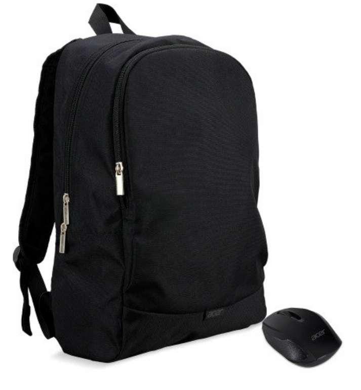 "Acer Notebook Starterkit 39,6 cm (15,6"") Rucksack + RF2.4 Wireless Optical Maus für 9,90€inkl. Versand (statt 15€)"