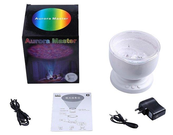 Aurora Master - LED Projektionslampe für 8,72€ inklusive Versand